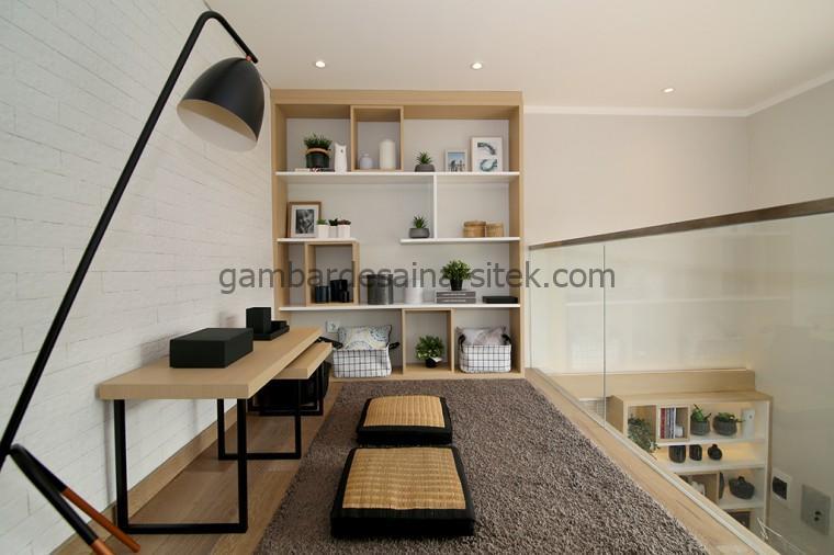 Lantai 2 Mezzanine Desain Rumah Ala Jepang Dari Luar 1 Lantai Ternyata Dalemnya 2 Lantai 3