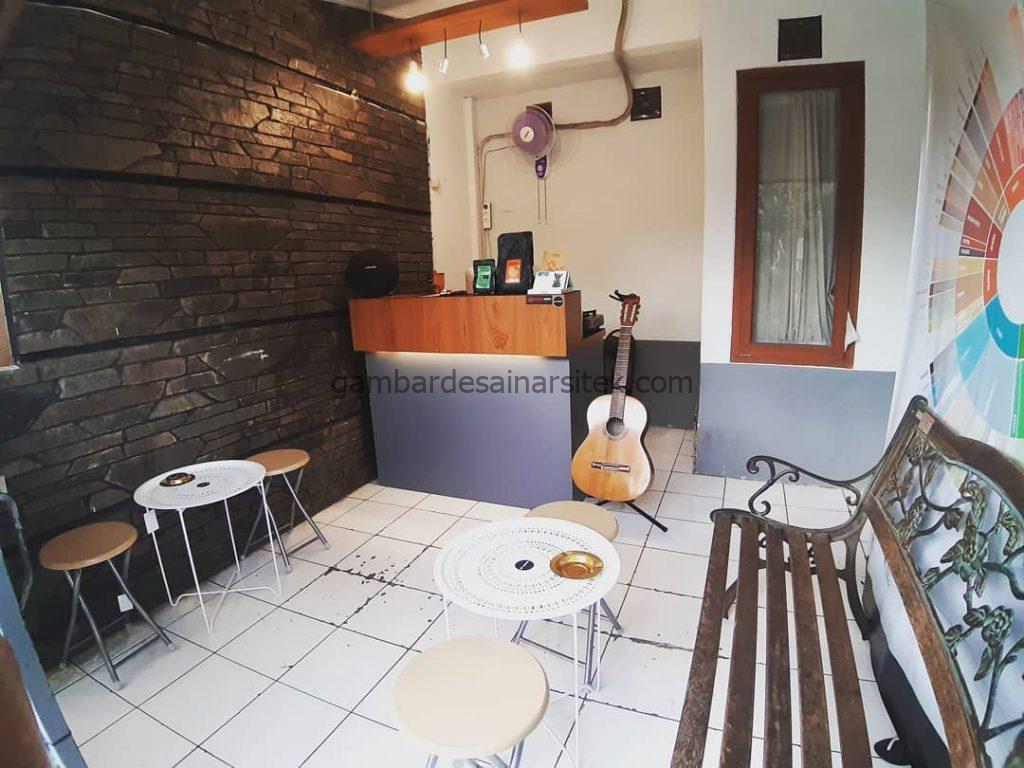 cafe minimalis depan rumah 1