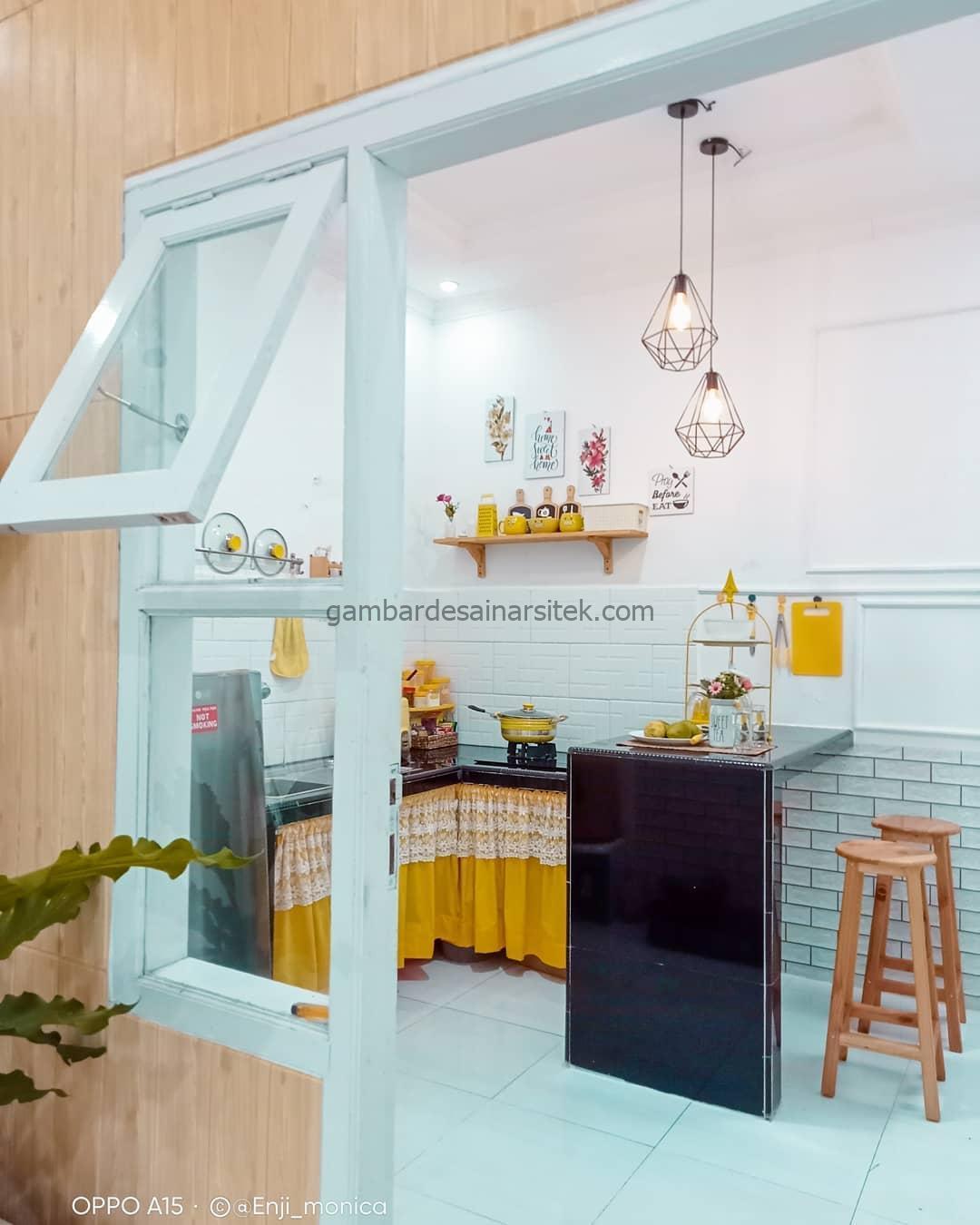 dapur minimalis cantik sekalai 1