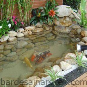 11 desain kolam ikan minimalis depan rumah banyak pilihan 4 1