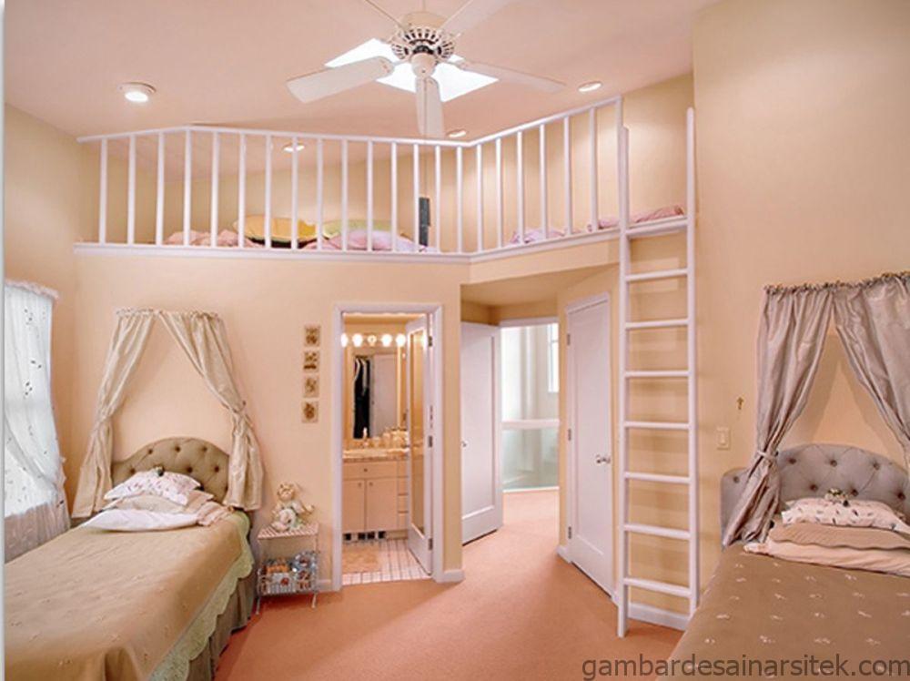 15 dekorasi kamar anak perempuan layaknya putri negeri dongeng 2
