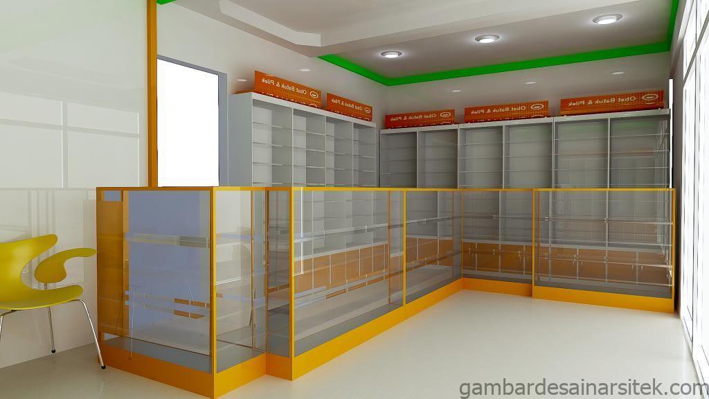 20 contoh desain apotek modern terbaru model desain rumah minimalis 9 1