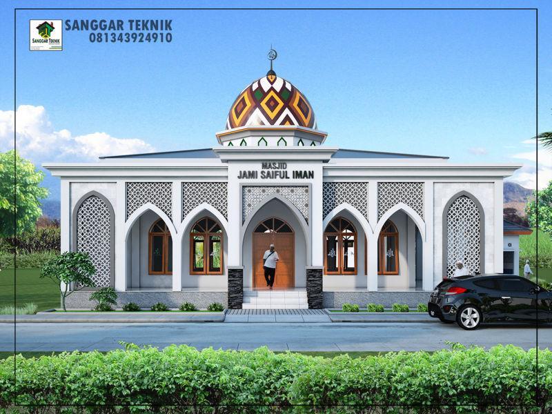 40 desain masjid 2 lantai sederhana yang nyaman 3 1