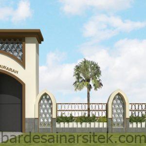 45 konsep model pagar minimalis untuk masjid model pagar minimalis 1