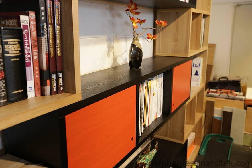 buku rak buku kabinet dekorasi desain dalam ruangan rak 1 1
