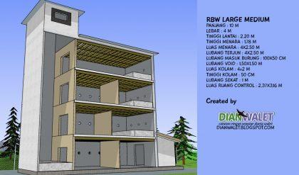 desain gedung walet rbw 4x10 lengkap dengan sekat ruang full 10 1