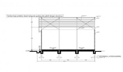 desain gudang besi dari rangka baja desain gudang desain gudang 4 1