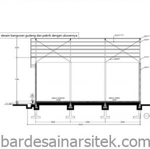 desain gudang besi dari rangka baja desain gudang desain gudang 5 1