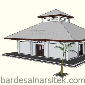 desain masjid sederhana minim budget argajogja 2 1