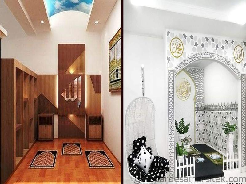desain mushola minimalis dan modern di rumah nada 313 1 1