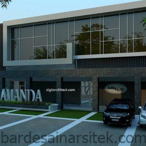 desain perkantoran minimalis 2 lantai arsitektur modern 5 1