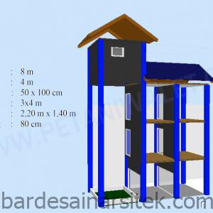 desain rumahgedung walet ukuran 4x8 m petani walet 3 1