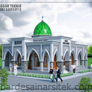 gambar desain masjid minimalis 12x12 presentasi arsitektur 9 1