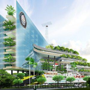 keren begini indahnya desain gedung baru psikologi undip 1 1