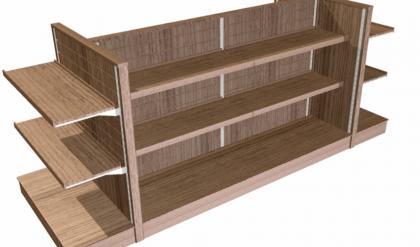 konsep baru 27 desain rak kayu warung 2