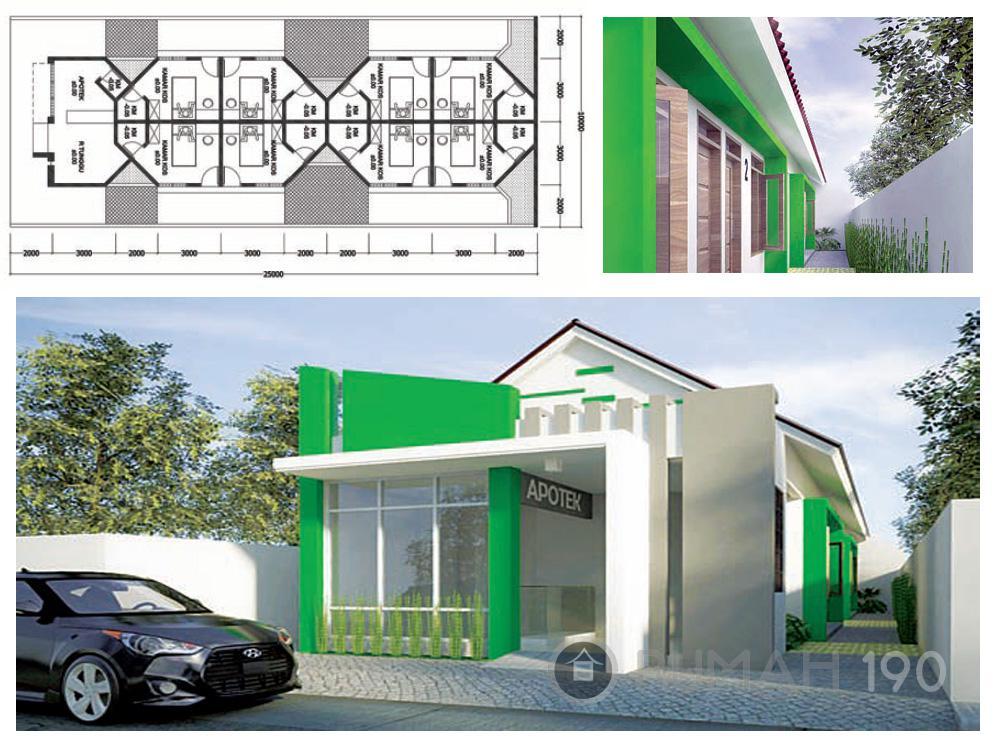 konsultasi desain rumah rumah indekos dan apotek konsultasi