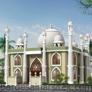 kumpulan gambar desain masjid 2 lantai 2016 arsitektur islami 3 1