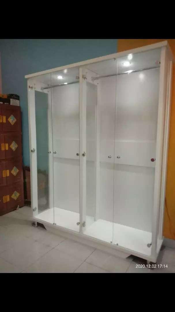lemari kaca gamis lemari gamis lemari baju gantung gamis 2