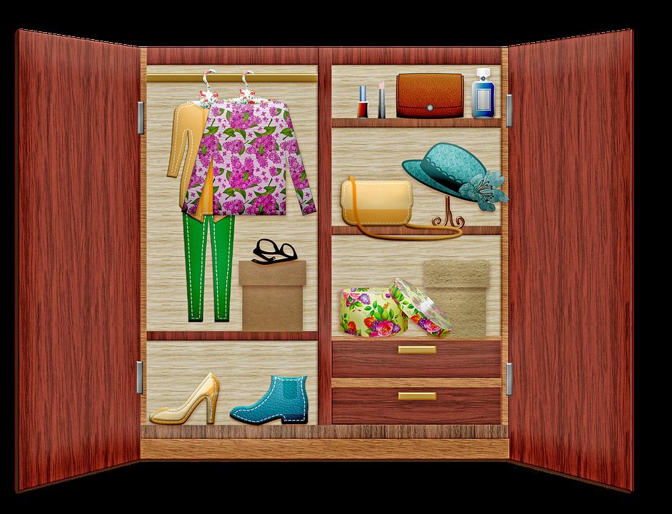 rak kabinet kayu